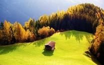 浓郁色调的自然景观壁纸